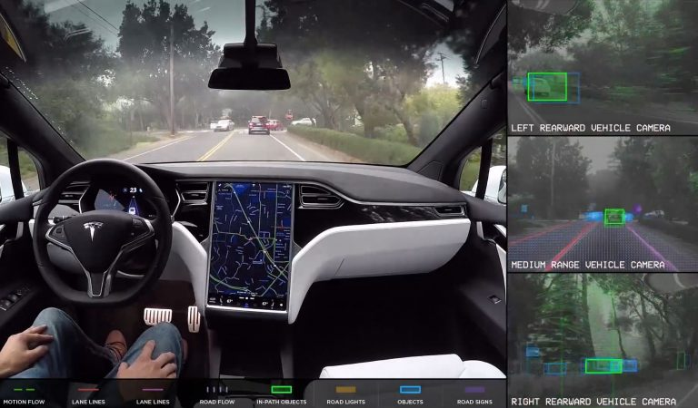 Tesla Autonomous Full Self-Driving Demonstration Videos