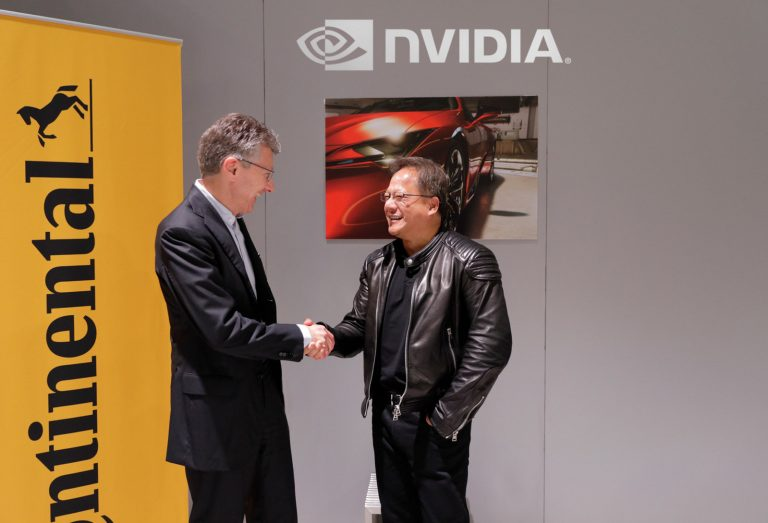 NVIDIA and Continental Partner for Self-Driving Cars