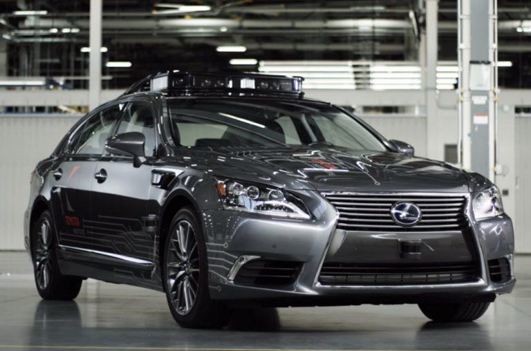Toyota Unveils Platform 3.0 Self-Driving Car Technology