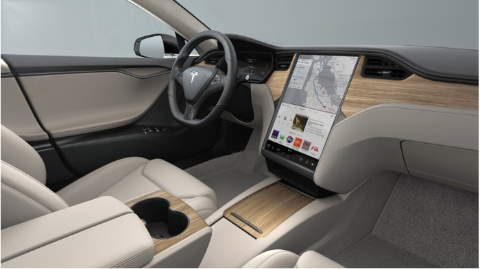 Model S and X Interior Refresh Example 2018