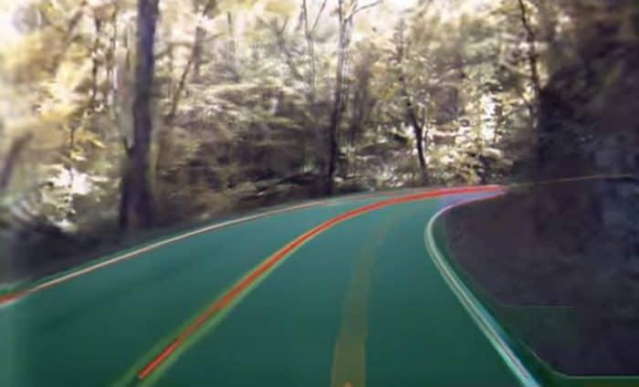 Amazing 360 Video of Tesla Autopilot Cameras