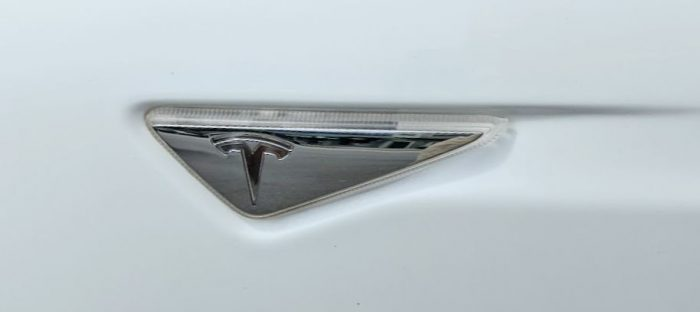 Tesla AP1 Side Panel Turn Signal