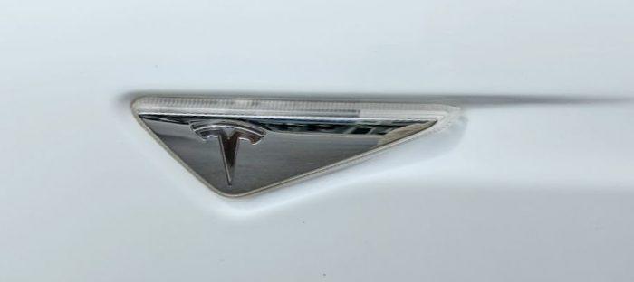Tesla AP1 Side Panel Turn Signal