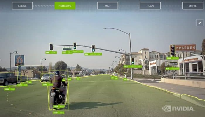 NVIDIA Drive Autopilot Object Detection