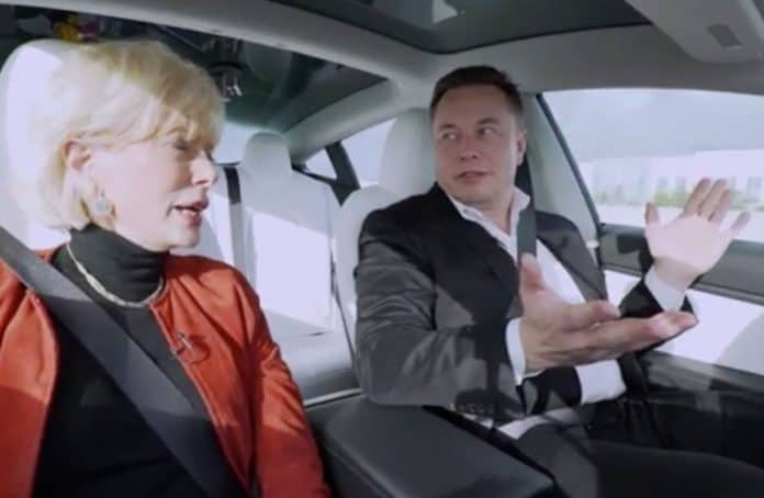 Elon Musk Full Self Driving Hands Off