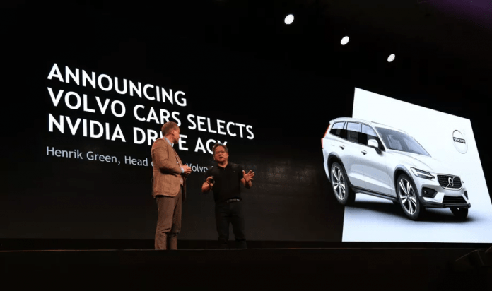 Volvo Selects NVIDIA For Future Self-Driving Platform