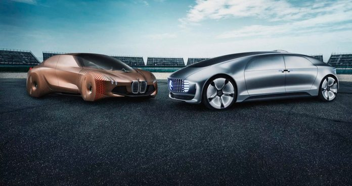 BMW-Daimler Mercedes Self Driving