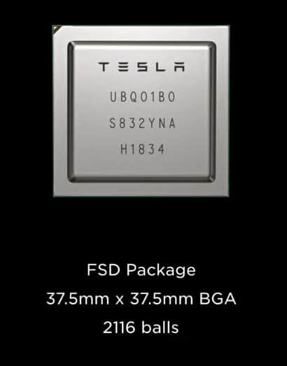 Tesla Full Self-Driving Chip