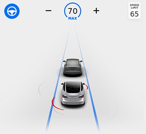 Tesla Model 3 Autosteer