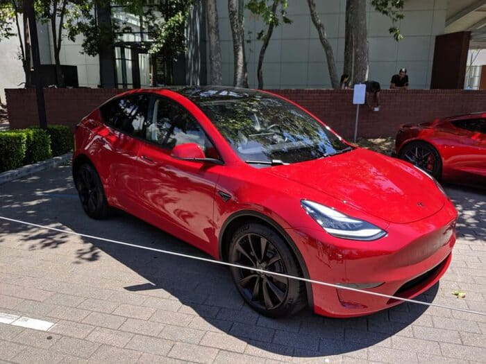Performance Model Y Makes Appearance at Shareholder Meeting