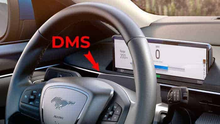 Ford Mach-E Driver Monitoring System (DMS) Autopilot