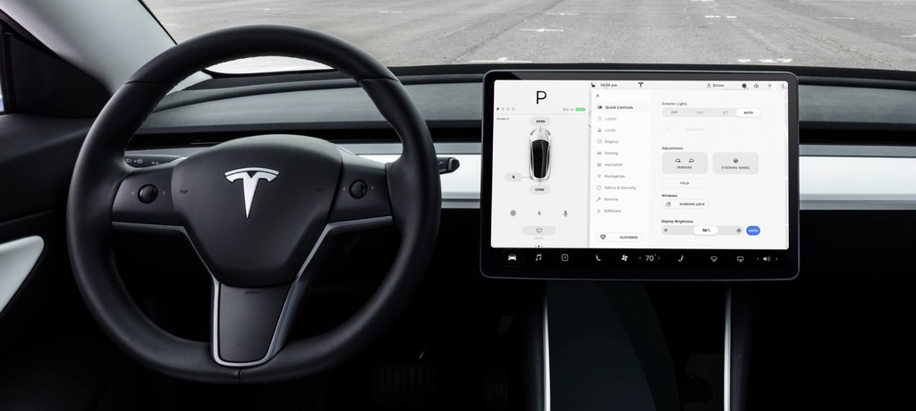 Tesla Model 3 and Y Interior