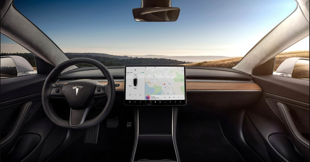 Tesla Model 3 and Model Y Interior