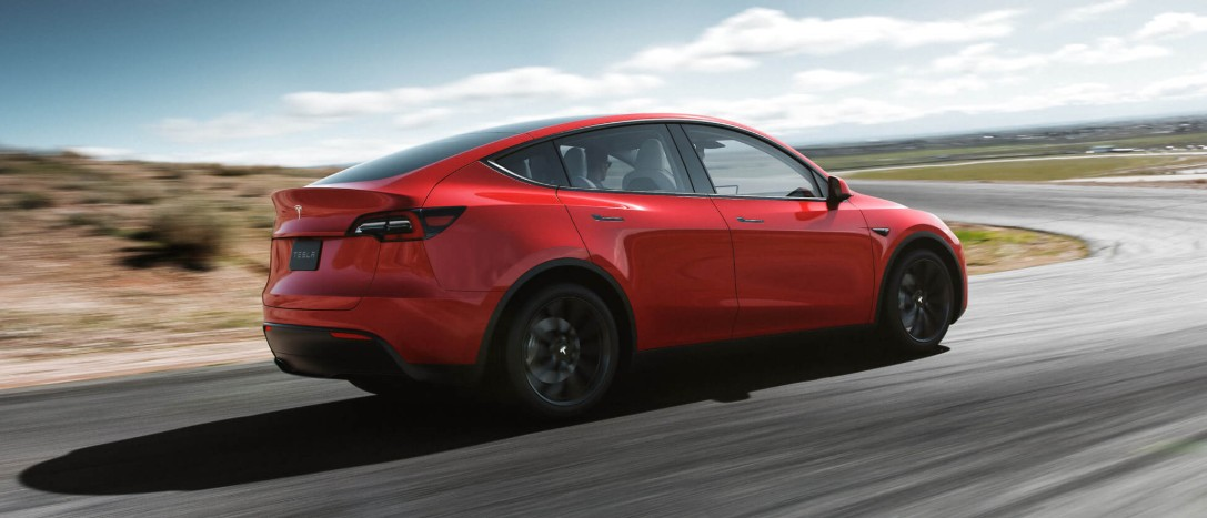 Tesla Model Y Rear Quarter Image
