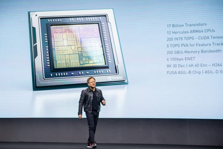 NVIDIA Unveils New Orin Chip For Self-Driving Vehicles