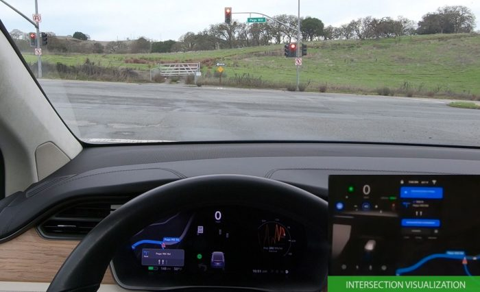 Tesla Autopilot Intersection Recognition