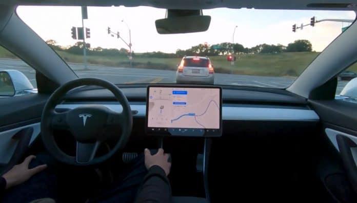 Tesla Full Self Driving Preview
