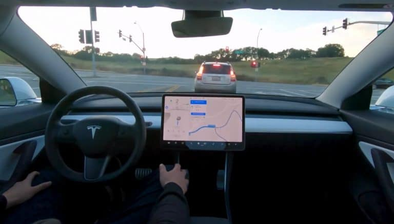Tesla Releases Full Self-Driving 'Sneak Preview'