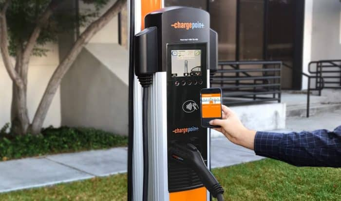 Chargepoint Public Charging Station
