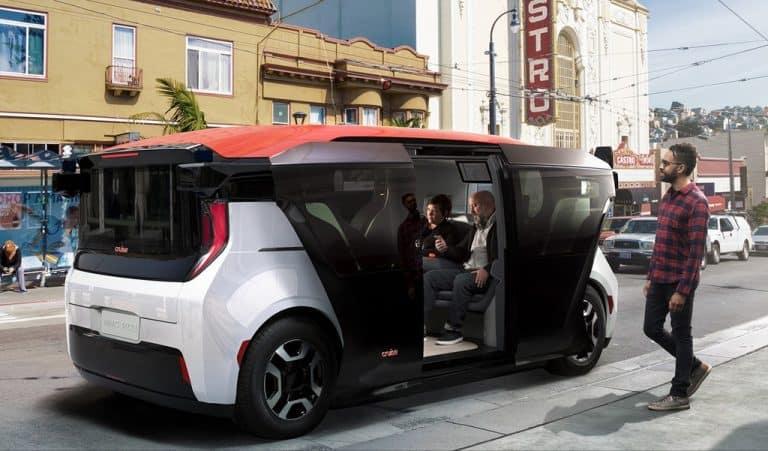 GM Cruise Unveils Self-Driving Autonomous Robotaxi