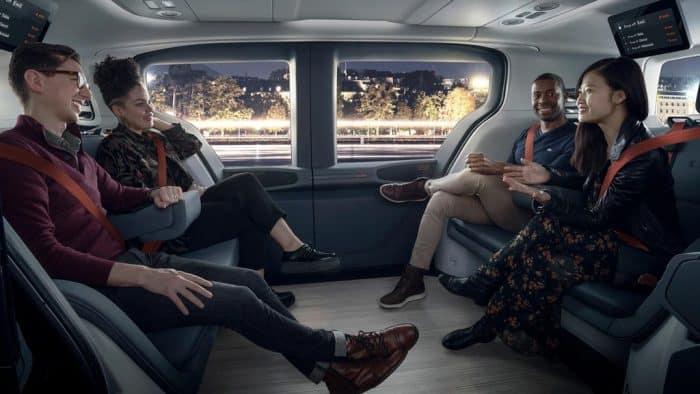 GM Cruise Origin Interior