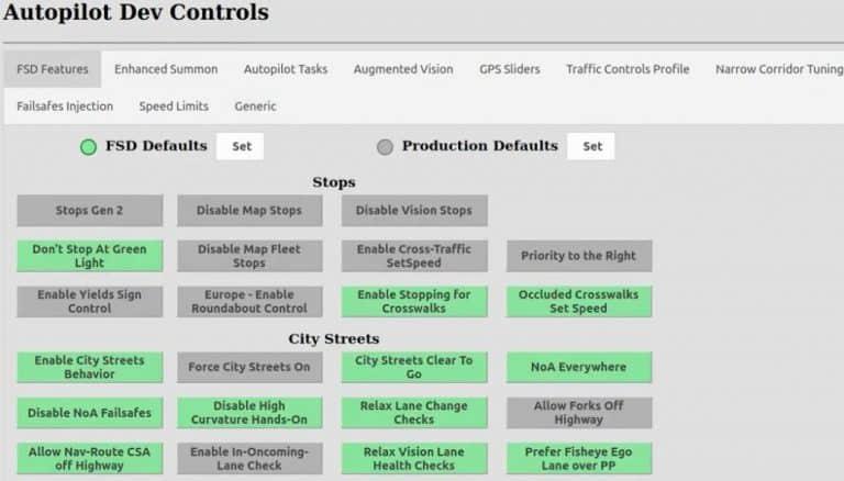 Tesla Autopilot Developer Mode for Full Self-Driving Uncovered