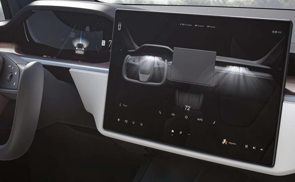 Tesla Model S and X 2021 Refresh Binnacle Driver Display