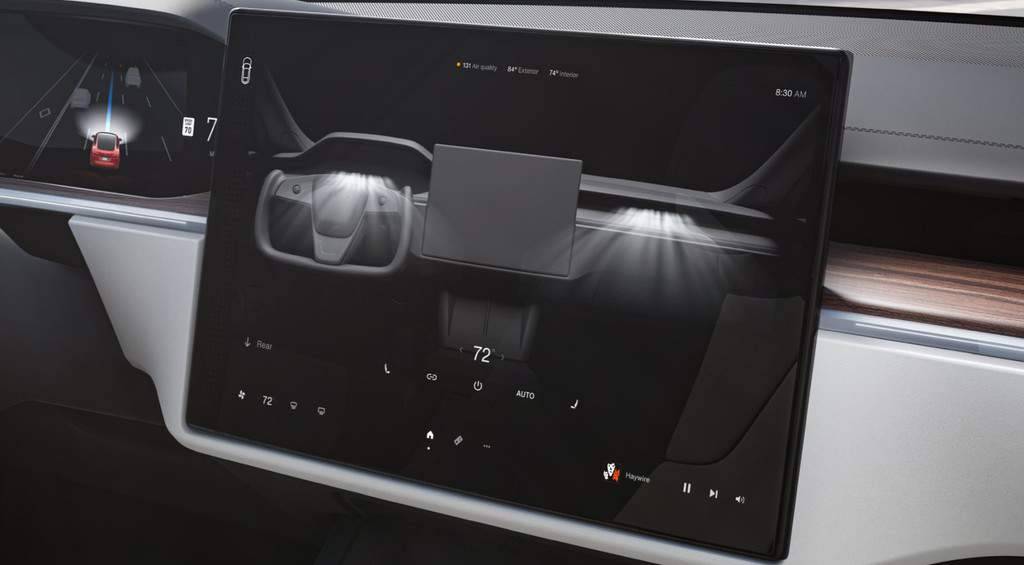 Model S and X Refresh 2021 Climate Controls