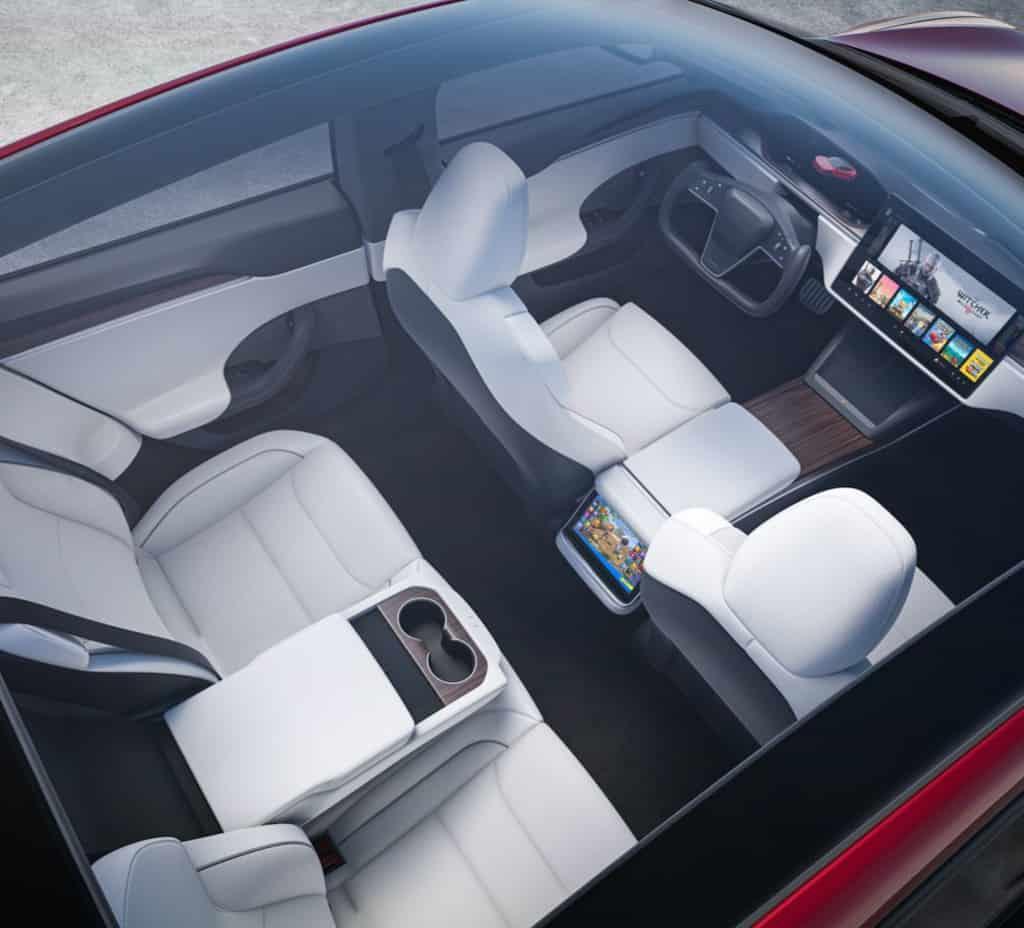 2021 Model S Refresh - Glass Roof
