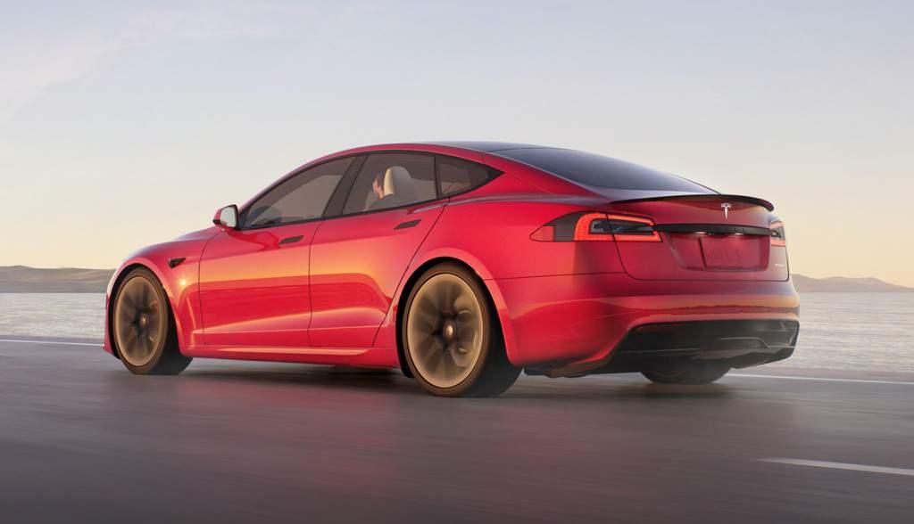 Model S 2021 Exterior Refresh - Rear
