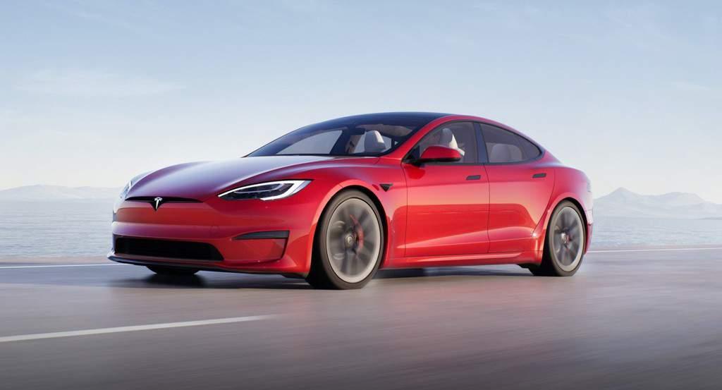 Model S 2021 Refresh Exterior