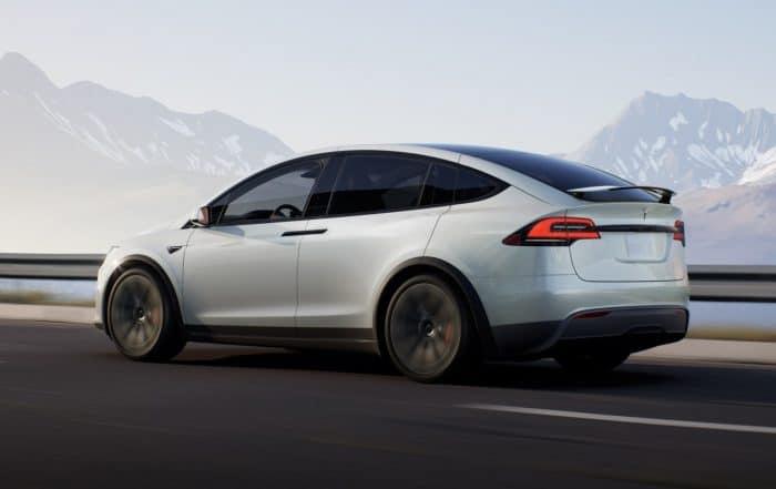 2021 Model X Refresh Exterior - Rear